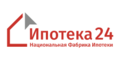 «Национальная Фабрика Ипотеки» (зарегистрированный бренд Ипотека24) - лого
