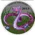 Монета Змея в розовом сердце