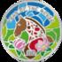 Монета Лошадь цветная